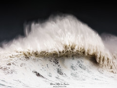 The assasin wave (Mimadeo) Tags: wave huge big breaking storm wind windy tempest energy cyclone dramatic danger hurricane dark risk stormy seascape sea ocean water rough waves spray foam splash nobody large powerful extreme crash heavy