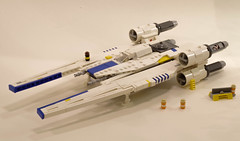 UT-60D U-wing (Tino Poutiainen) Tags: lego microscale star wars rebel moc ship craft space