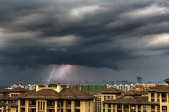 Severe thunderstorm - Orage violent - 04/07/2017 - Hangzhou (China) (Geoffrey Maillard) Tags: orage hangzhou china lightning foudre éclair thunderstorm thunder storm gewitter chinese chine asia asian asien asiatique asie weather world supercell météo chinoise paysage urbain urban landscape city ville day summer 2017 light wetter het wet travel stormchaser chaser chasseur dorage bad unwetter