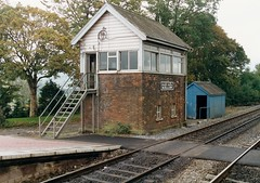 Signal Boxes 7 (Milepost 67) Tags: ireland countycork mallow mallowrailwaystation railway railways irishrailways irishrail iarnrodeireann signalbox signalboxes mallowsignalbox