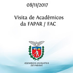 Visita de acadêmicos da FAPAR / FAC