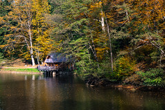 Autumn (Zanahr) Tags: autumn adventure art architecture landscape lakes lake place places water wood woods forest fall reflection nature ngc naturelover nikon ngm naturepark cottage croatia colors trees travel tree trakoscan
