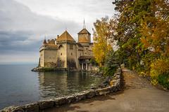 Le château en automne (Olivier Rapin) Tags: sonyalpha7 sony 2870mm fe suisse swiss switzerland chateau castel chillon romandie vaud lac leman automne autumn