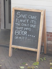 Save Our Planet Chalkboard Ely Nov 2017 (symonmreynolds) Tags: saveourplanet chalkboard ely november 2017