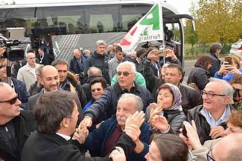 Matteo Renzi a Massa Lombarda
