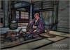 Samurai Tea (ImageMD) Tags: japan tea samurai robe topaz oligoprint