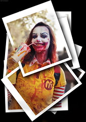 OKIMG_1266 (taymtaym) Tags: luccacomicsgames2017 lucca comics games 2017 and luccacomicsandgames2017 cosplay cosplayers costumes costumi costume cosplayer girl ragazza modella model scary horror clown mcdonald mcdonalds blood sangue