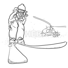 Skiing and Helicopter Doodle Sketches (Hebstreits) Tags: adrenalin art artistic cold drawing equipment extreme fun grunge happy helicopter hill illustration joy jump lifestyle outline people picture racer racing rescue resort season sketch ski skier snow speed sport sporting sports team vacation vector white winter young