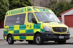 KFG 426 (ambodavenz) Tags: sprinter319cdi mercedesbenz newzealand stjohnambulance southcanterbury actionmanufacturing ambulance vehicle timaru