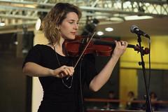 Ösp Eldjárn (2017) 07 - Valeria Pozzo (KM's Live Music shots) Tags: folkmusic taly valeriapozzo ospeldjarn violin fridaytonic southbankcentre