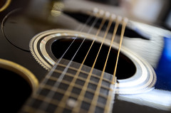 universal language (javan123) Tags: guitar dof strings bokeh