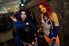 Starfire and Raven (zemekiss) Tags: fanexpo fanexpovancouver cosplay starfire raven teentitans