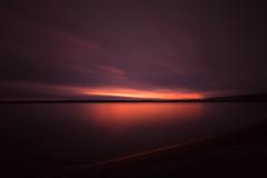First Light (mclcbooks) Tags: sunrise dawn daybreak beach lake reflections clouds longexposure le lakechatfield chatfieldstatepark colorado landscape