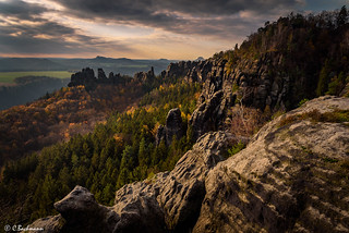 Autumn in Saxon Switzerland (Schrammsteine)