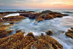 9CB_6598 (pattana92392) Tags: seawave sea longexposure sunset coast water fineart stone