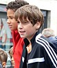 Excited before the race (Cavabienmerci) Tags: boy boys schweiz switzerland suisse run running race lauf laufen läufer runner runners corrida octodure martigny course à pied coureur coureurs sport sports valais wallis junge jungen garçon garçons