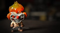 SWEET TOOTH (dr.7sn Photography) Tags: sweet tooth evil clown horror fire art bloody blood funko funkopop vinyl pop red halloween twisted metal darktooth ps1 ps2