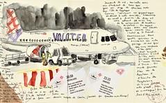 mallorca 2 - partir... (bigoudene46) Tags: avion aéroport carnetdevoyage carnettiste bigoudene46 usk