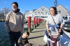 Grandparents (quinn.anya) Tags: tom busia mary dziadzi sam preschooler dock marthasvineyard edgartown