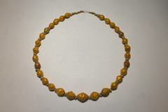 Chicago, IL - Grant Park - Field Museum - Ancient Mediterranean Cultures in Contact - Etruscan Gold Necklace (jrozwado) Tags: northamerica usa illinois chicago museum fieldmuseum naturalhistory grantpark jewelry necklace etruscan