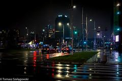 Kaz-12 (tosz75) Tags: warszawa plac zawiszy warsaw by night