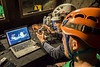 Playing video games? (europeanastronauttraining) Tags: pangaea astronaut training geology geological field planetary analogue exploration volcanism lanzarote