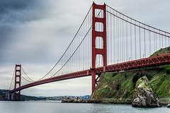 Golden Gate Bridge (Greg @ Montreal) Tags: sanfrancisco goldengate goldengatebridge bridge california californie pont usa unitedstates nikon nikonpassion d7100 dramaticsky