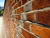 lincoln's inn wall (n.a.) Tags: lincolns inn fields legal holborn london wall bricks perspective brick red