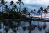 HumuHumuDinnerView1 (KompactKris) Tags: hawaii maui grand wailea resort beach ocean sunset sun sand sky clouds palm trees water blue orange green canon 6d