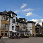 Place du village, Strathpeffer, Ross and Cromarty, Ecosse, Royaume-Uni. thumbnail