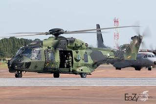 NH-218 Finnish Army NH Industries NH-90TTH