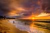 Sunset beach 2 (rdpe50) Tags: landscape beach sand surf waves people ocean sunset sunsetbeach northshore oahu hawaii