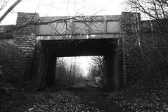 Bridge beneath Hound Hill Lane    (Silkstone - Wath old railway)    November 2017 (dave_attrill) Tags: houndhilllane bridge great central railway electrified woodhead sheffield victoria manchester picadilly closed 1970 1955 stocksbridge engine transpennine upper don trail penistone wortley wadsley neepsend dunford thurgoland tunnel oxspring barnsley junction huddersfield allweather cycleway bridleway footpath remains silkstone 2016 1981 dove valley november 2017 dovevalleytrail worsbrough worsbroughbranch