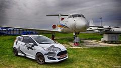 Ford Fiesta (chernatsky.artem) Tags: nikon d90 outdoors hdr kiev ukraine oldcarland car auto vehicle ford fiesta