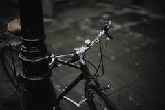 on ya bike... (Jess Feldon) Tags: southwest bike vintagebike bristol jessfeldon 50mm depth dof lookslikefilm city streetphotography vintage