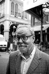 The Big Boss (Ben Allan Photography) Tags: dad streetphotography portrait monochrome blackandwhite borough market boroughmarket suave london pub