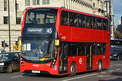 YY67 GZK (2589) Abellio London (hotspur_star) Tags: londontransport londonbuses londonbus londonbuses2017 alexanderdennisltd enviro400hmmc tfl transportforlondon hybridbus hybridtechnology busscene2017 doubledeck abelliolondon yy67gzk 2589 45