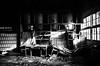 廢青的廢墟探險 (Aston Chen) Tags: 廢墟 ruins nantou portrait monochrome