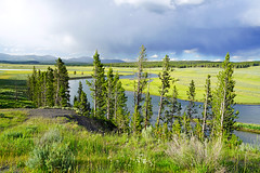 Yellowstone River, Wyoming, USA (Andrey Sulitskiy) Tags: usa wyoming yellowstone