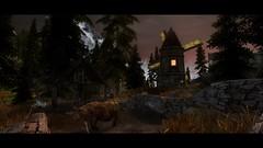 Skyrim LE - Windmill at Dusk (GameDuchess) Tags: skyrim gaming gamers girlgamers elderscrolls gamergirls videogames