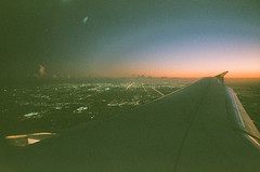 destination miami (Art by 2wenty) Tags: 2wenty leicam6 classic summilux 50 50mm 14 asph rangefinder film analog analogue underexposed plane sky grain grainy