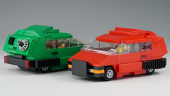 small_car_01 (kaba_and_son) Tags: blade runner small car lego bladerunner ブレードランナー レゴ スモールカー 車