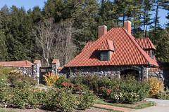 Gatehouse in the Walled Garden at the Biltmore (North Carolina) (Jersey Camera) Tags: biltmore blueridgemountains roadscholar roadscholartrip gatehouse walledgarden