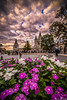 Fisherman's bastion (Vagelis Pikoulas) Tags: flower flowers sky clouds cloudy budapest castle buda hungary landscape city cityscape canon 6d tokina 1628mm view europe september autumn 2017