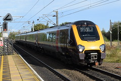 XC 221125 @ Northallerton train station (ianjpoole) Tags: cross country class 221 super voyager 221125 working 1v54 dundee plymouth