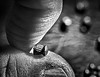 pellet gun (Uniquva) Tags: macromondays fingertips airgunpellets thumb macro bw monochrome