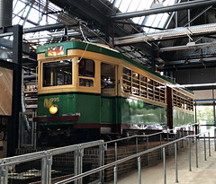 2017 Sydney: Tramsheds #5 (dominotic) Tags: 2017 tramsheds 1904rozelletramdepot innerwestsydney architecture history dining shopping industrialmakeover sydneytram1995 green yellow iphone8 sydney australia