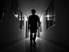 Toward The Light (Rafin71) Tags: light fear joy ward toward bw black white paradise lost