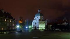 New Town Square Warsaw 11 November 2017 (The McCorristons) Tags: 2017 catholic church kosciol market miasta new night november nowego poland polska rynek sakramentek square town warsaw warszawa