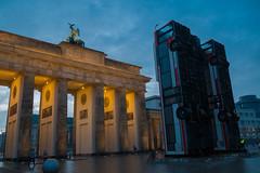 Monument (alxfink) Tags: monument berlin brandenburggate mitte art halbouni syria aleppo herbstsalon lumix